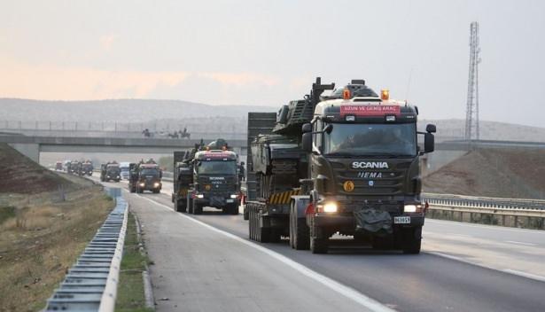 Suriye sınırına tank sevkıyatı! 14