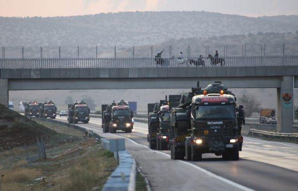 Suriye sınırına tank sevkıyatı! 15