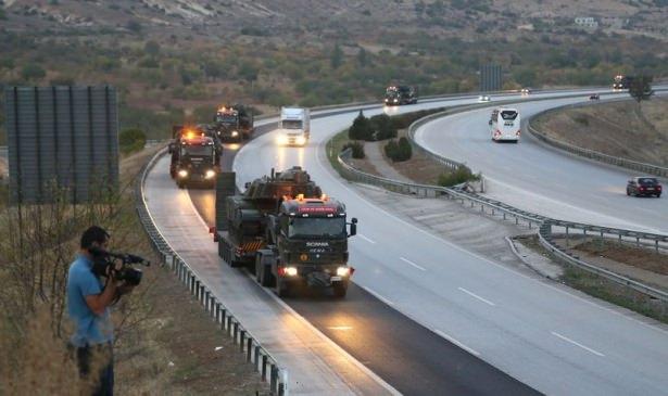 Suriye sınırına tank sevkıyatı! 7