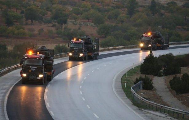 Suriye sınırına tank sevkıyatı! 9