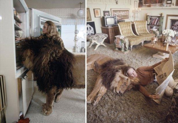 Vahşi hayvanlar ile yaşayan korkusuz insanlar 7