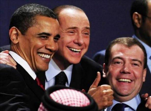 Siyasi liderlerin gülümseten fotoğrafları 19