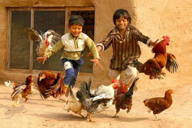 Dünya çocuklarının en mutlu anları 54