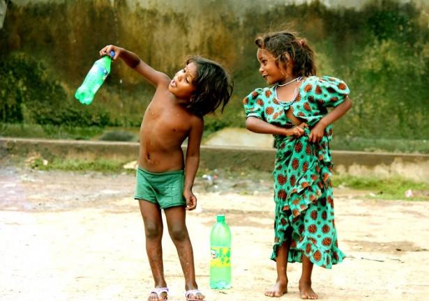 Dünya çocuklarının en mutlu anları 55