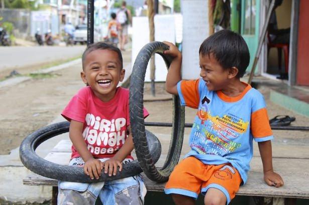 Dünya çocuklarının en mutlu anları 58