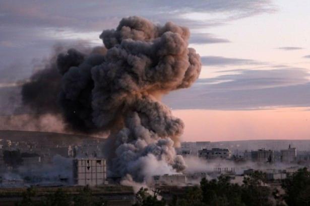 IŞİD Kobani'yi alev topuna çevirdi 12
