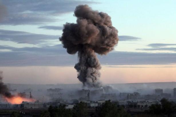 IŞİD Kobani'yi alev topuna çevirdi 16