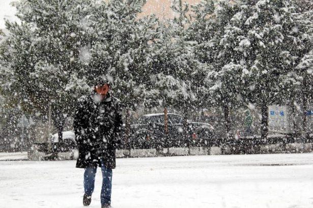 Türkiye'den kar manzaraları 12