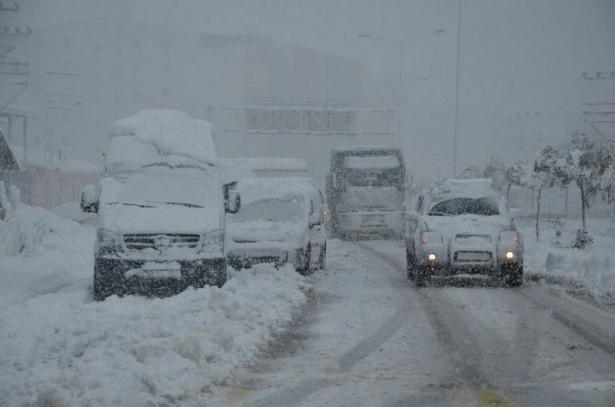 Türkiye'den kar manzaraları 18