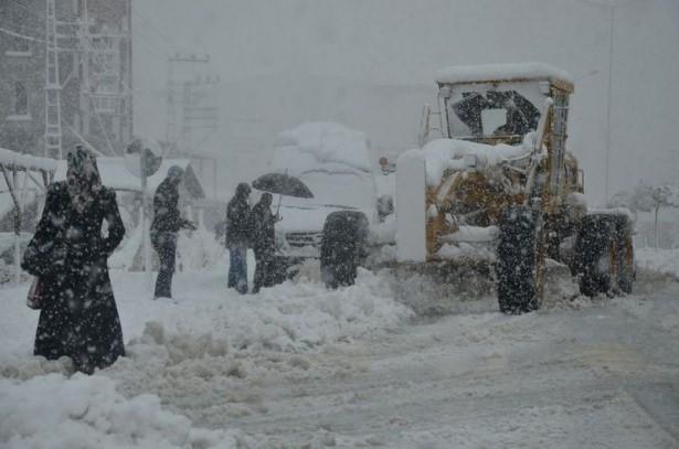 Türkiye'den kar manzaraları 21