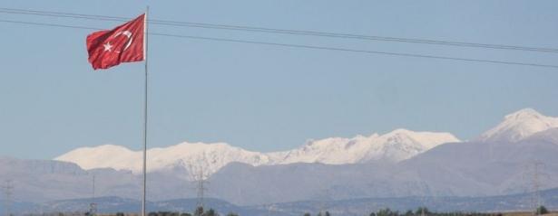 Türkiye'den kar manzaraları 30