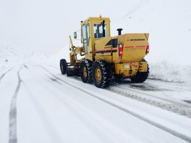 Türkiye'den kar manzaraları 61