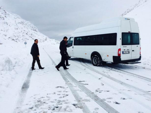 Türkiye'den kar manzaraları 62