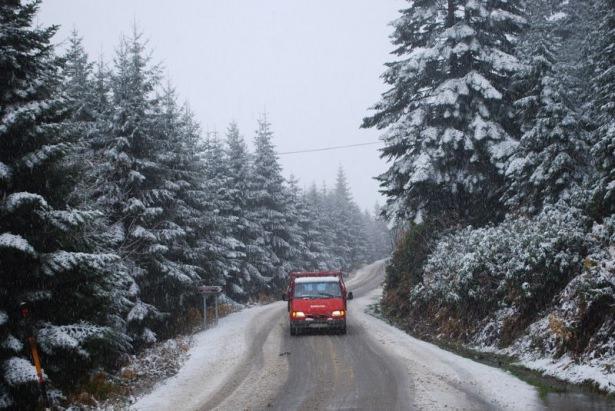 Türkiye'den kar manzaraları 85