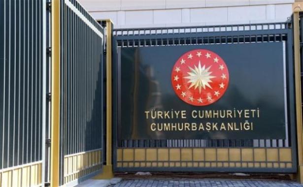 Yeni Cumhurbaşkanlığı binasına tabela asıldı 11