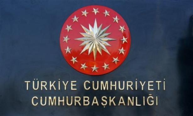 Yeni Cumhurbaşkanlığı binasına tabela asıldı 12