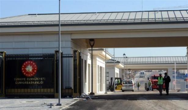 Yeni Cumhurbaşkanlığı binasına tabela asıldı 16