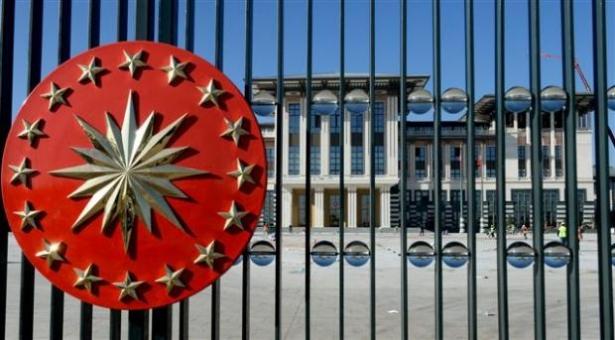 Yeni Cumhurbaşkanlığı binasına tabela asıldı 19