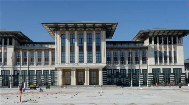 Yeni Cumhurbaşkanlığı binasına tabela asıldı 23