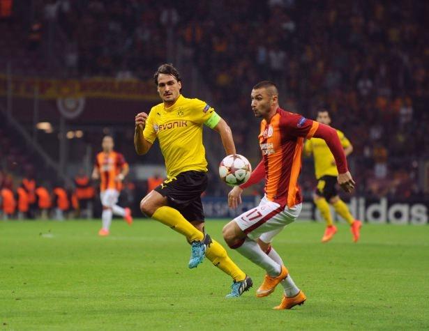 Galatasaray-Borussia Dortmund maçı 8
