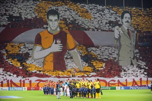 Galatasaray-Borussia Dortmund maçı 9