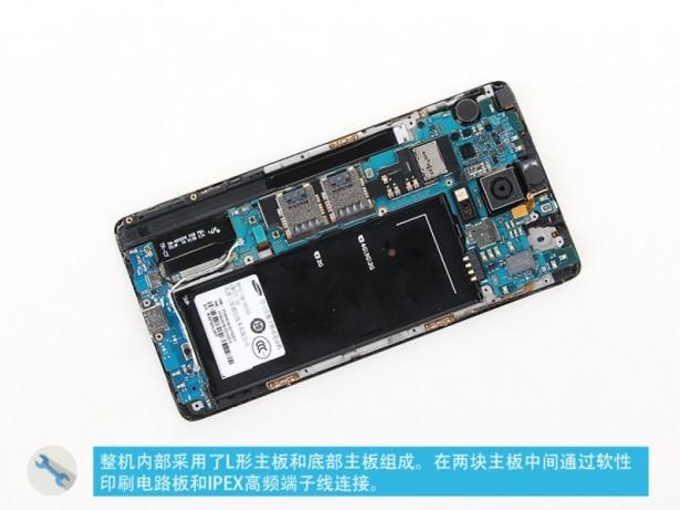 Samsung Galaxy Note 4 parçalarına ayrıldı 5