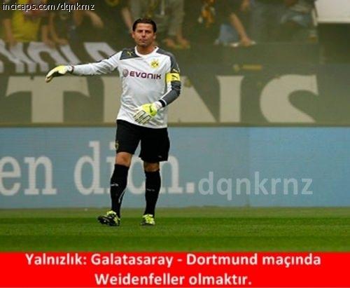 Galatasaray - Dortmund maçı capsleri 11
