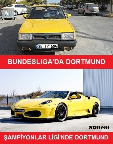 Galatasaray - Dortmund maçı capsleri 2