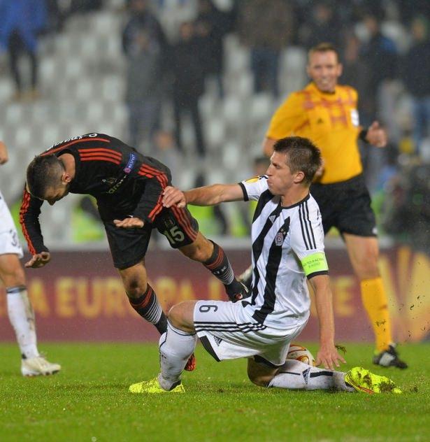 Partizan-Beşiktaş 1