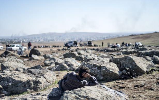 Çatışmaları sınırdan böyle izlediler 25