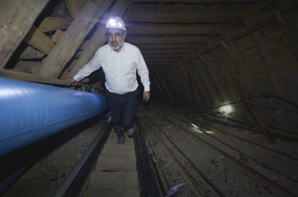 Bakanlar maden ocağına indi 1