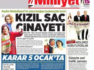 23 Aralık 2014 gazete manşetleri