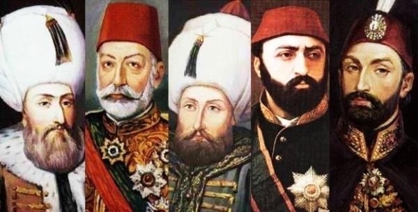 Osmanlı Padişahlarının bilinmeyen burçları 1