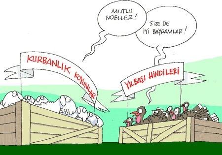 Kurbanlık karikatürler tam şenlik! 10