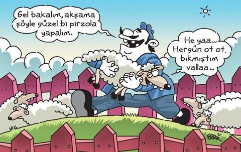 Kurbanlık karikatürler tam şenlik! 24