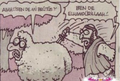 Kurbanlık karikatürler tam şenlik! 5
