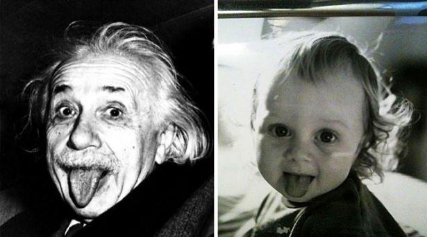 Birbirinden komik benzerlikler 1