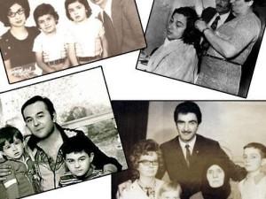 Ünlülerin görmediğiniz aile albümleri