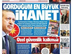 3 Nisan 2015 gazete manşetleri