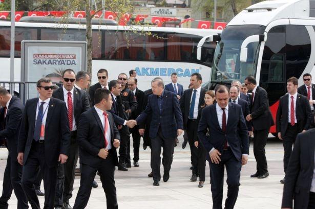 Cumhurbaşkanı Erdoğan Sakarya'da 1