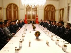 Kaptanlar Saray'da toplantı