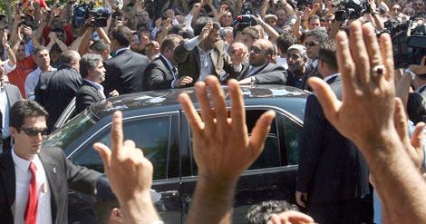 Türkiye'ye gelen liderlerin unutulmaz kareleri 1