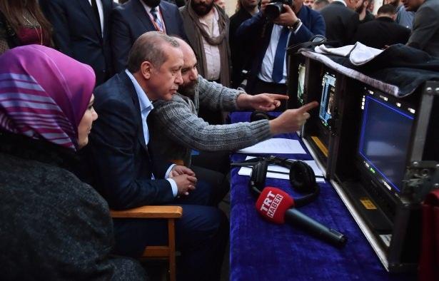 Erdoğan'dan 'Filinta' setine sürpriz ziyaret 1
