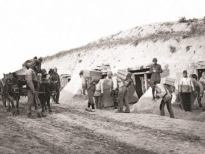Terekeden çıkan Çanakkale arşivi