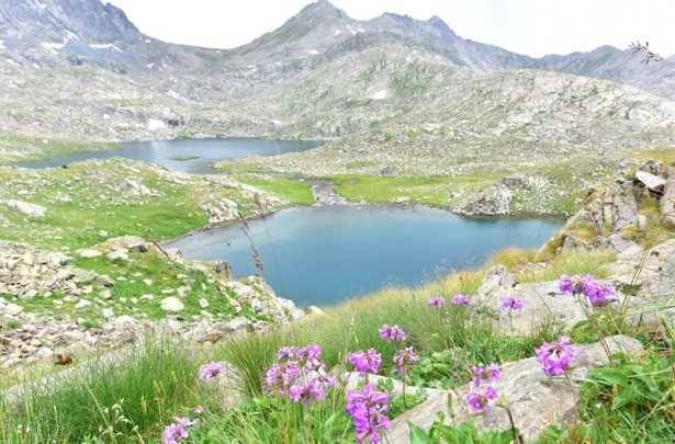 Verçenik Dağı'nın göllerine yoğun ilgi 1