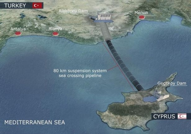 Türkiye'den KKTC'ye 'can suyu' 1