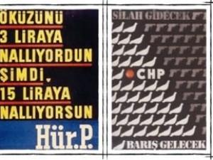 Tarihi seçim afişleri