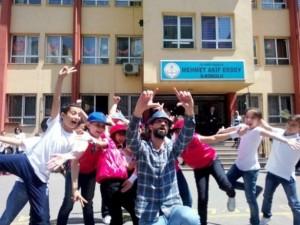 Sosyal medya öğretmen Ahmet Naç'ı konuşuyor