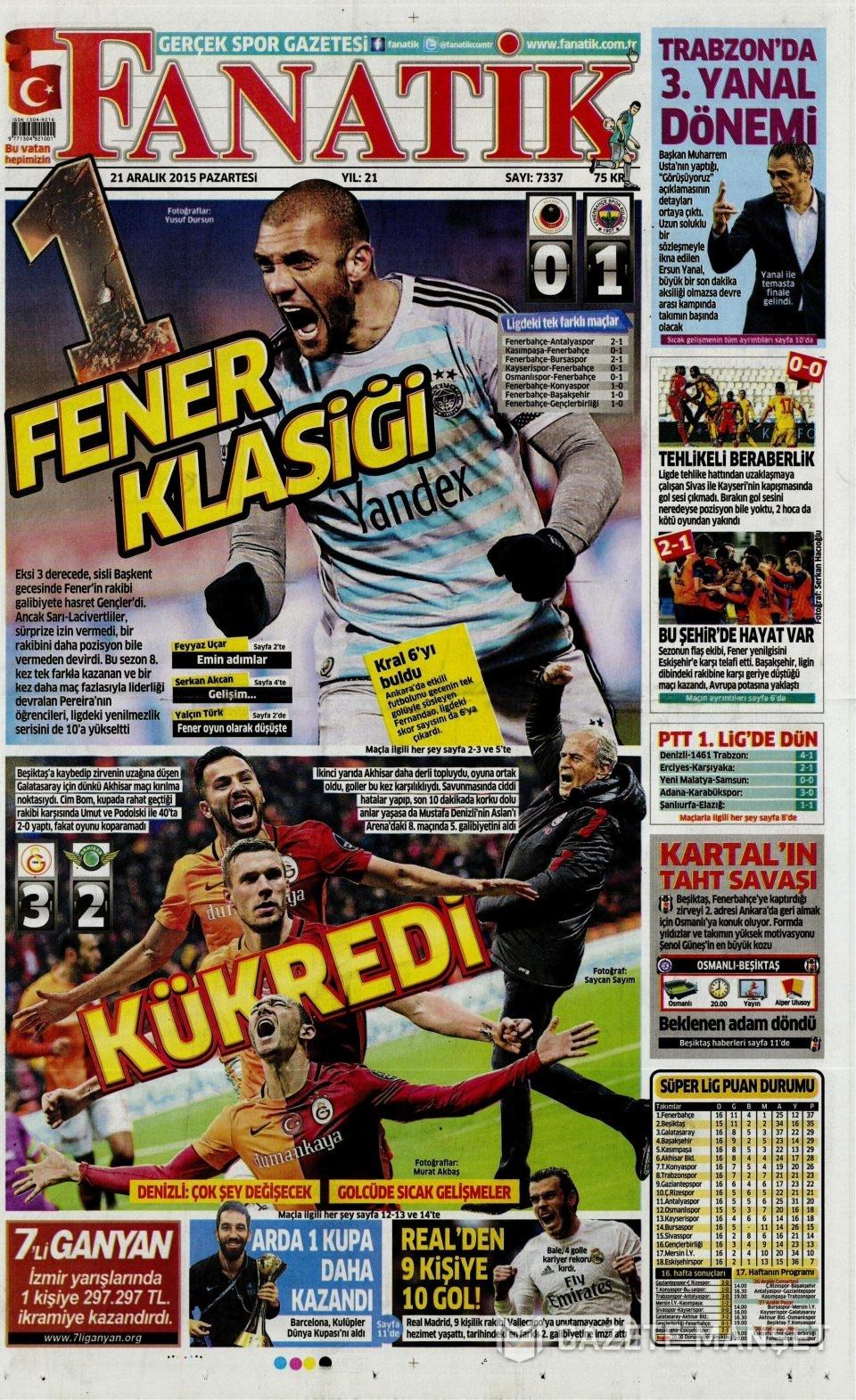 21 Aralık 2015 gazete manşetleri 29