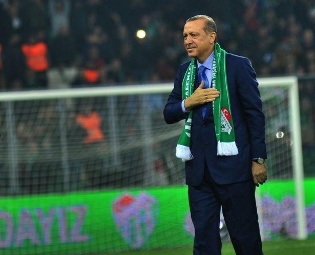 Santrayı Erdoğan yaptı, ilk golü o attı 11